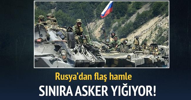 Rusya, Ukrayna sınırına asker yığıyor