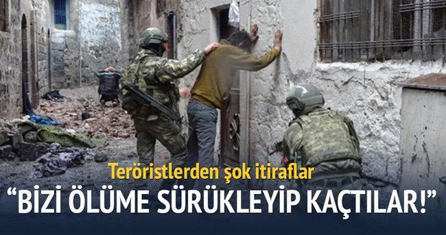 Teslim olan teröristlerden şok itiraflar!