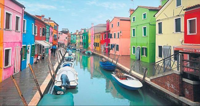 Venedik'in üç silahşörleri: Murano, Burano ve Torcello