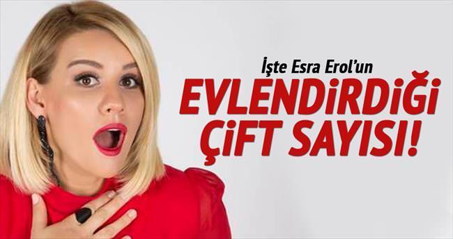 Esra Erol dokuz yılda 321 çifti evlendirdi