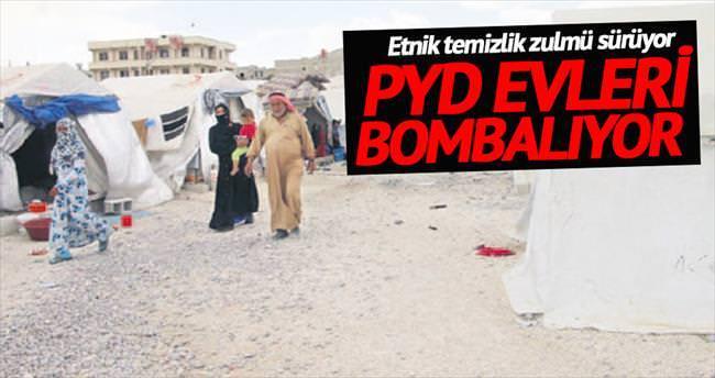 PYD evleri bombaladı suçu DAEŞ'e attı