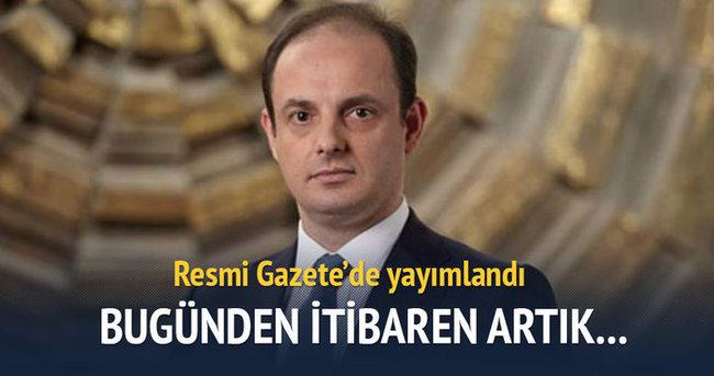Murat Çetinkaya'nın atanma kararı Resmi Gazete'de