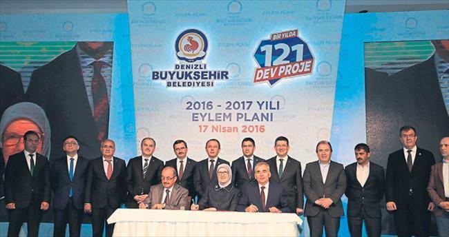 121 proje 1 yılda bitirilecek