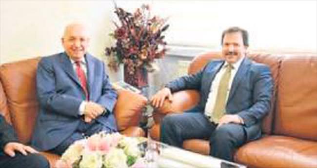 Başkan Yaşar'dan ANKESOB'a ziyaret