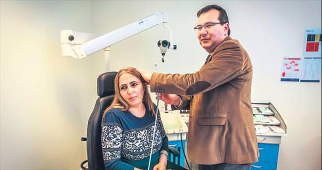 Kulaktaki tümöre 7 saatlik ameliyat