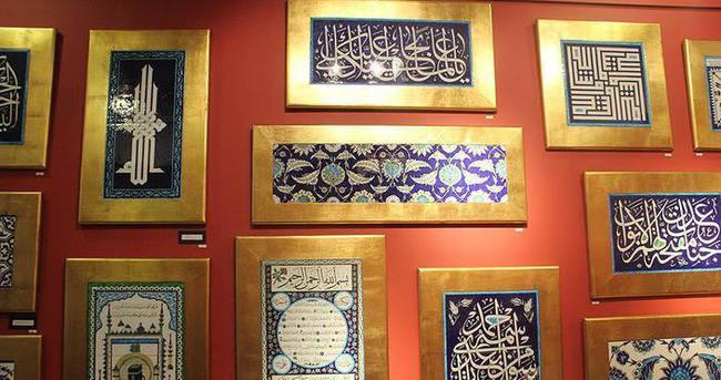 'Saray Sanatları' sergisi açıldı