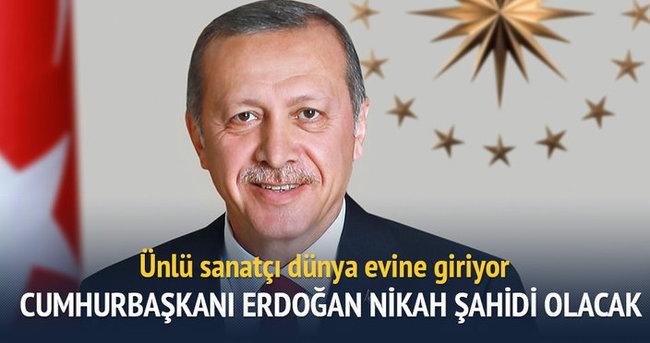 Cumhurbaşkanı Erdoğan, Sinan Özen'in nikah şahitliğini yapacak