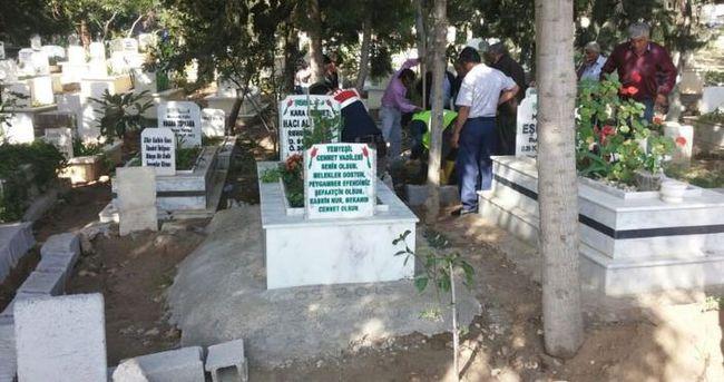 Suphi Altındöken'in mezarı Erdemli'de iddiası vatandaşı ayaklandırdı