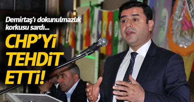 Demirtaş'tan CHP'ye dokunulmazlık çağrısı!