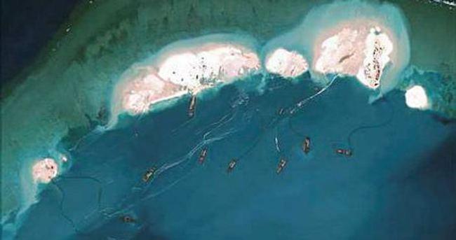 Güney Çin Denizi'nde tansiyon yükseliyor