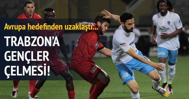 Trabzonspor'a Gençlerbirliği çelmesi
