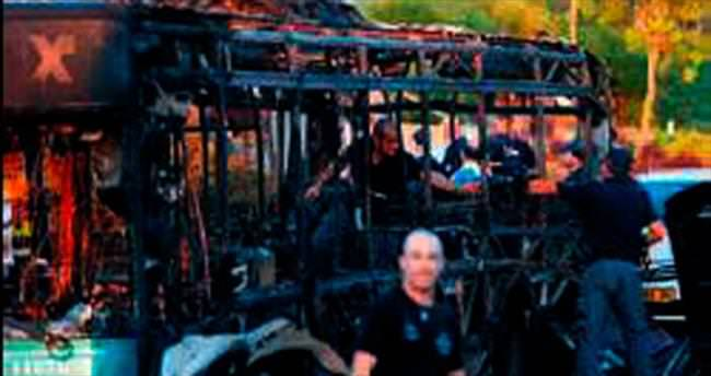 Kudüs'te otobüse bomba: 21 yaralı