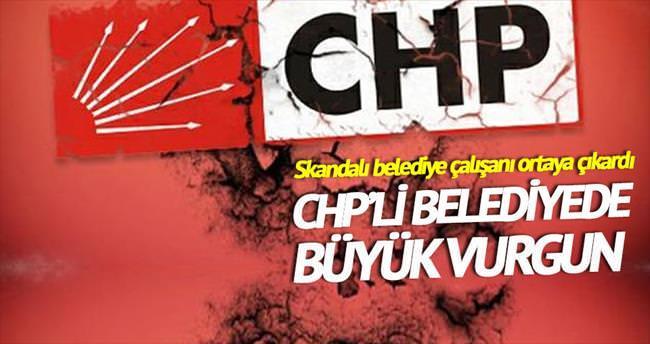 CHP'li belediyede 4.5 milyonluk vurgun