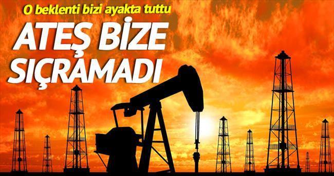 Petrol ateşi Türkiye'ye sıçramadı