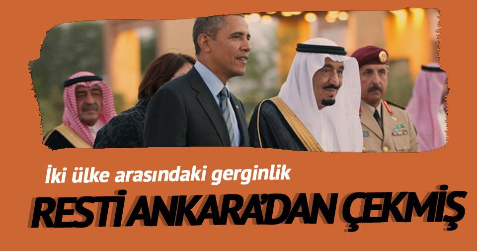 Kral Selman resti Ankara'dan çekti
