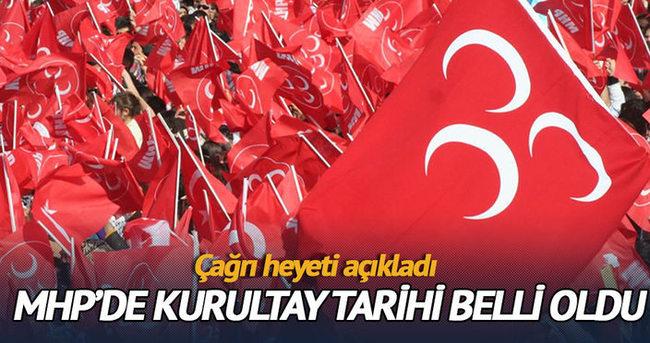 MHP'de olağanüstü kongre 15 Mayıs'ta yapılacak