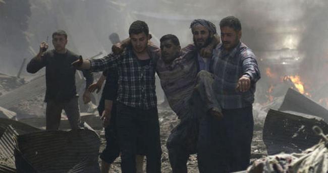 İdlib'te pazar yerine hava saldırısı: 33 ölü, 47 yaralı