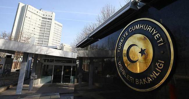 Dışişleri Bakanlığı Kabil'deki intihar saldırısını kınadı