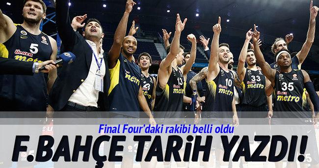 Fenerbahçe'nin Final Four'daki rakibi belli oldu