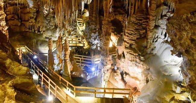 Karaca mağarasına ilk 4 günde 700 ziyaretçi