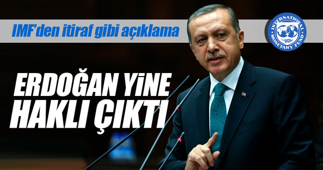 Cumhurbaşkanı Erdoğan yine haklı çıktı