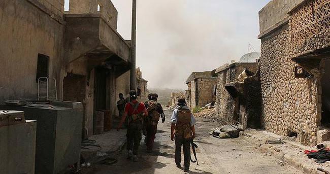 Halep'te DAEŞ'e darbe
