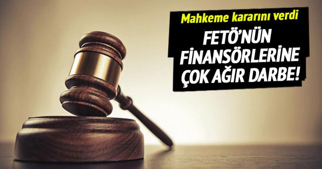 FETÖ'nün finansörlerine tutuklama!
