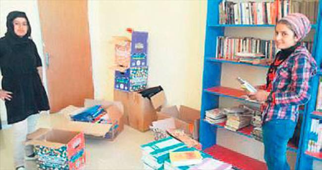 Pursaklar'dan Urfa'ya kütüphane