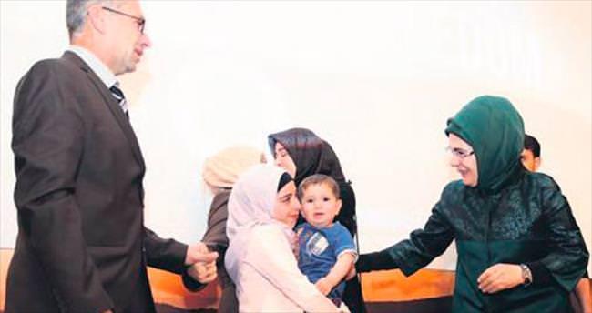 Emine Erdoğan'dan Suriyeli Ruha'ya sürpriz