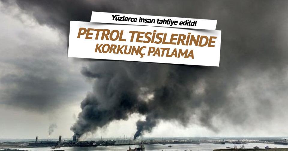 Meksika'da petrol tesislerinde korkunç patlama