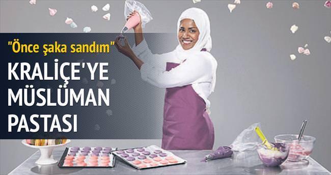 Kraliçe'nin pastası Müslüman aşçıdan