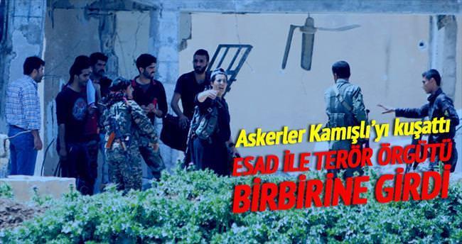 Rejim ile PYD birbirine girdi