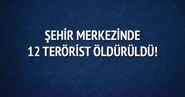 Mardin ve Şırnak'ta 12 terörist öldürüldü!