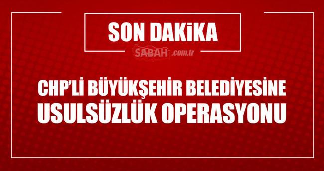 Aydın Belediyesinde 'usulsüzlük' operasyonu