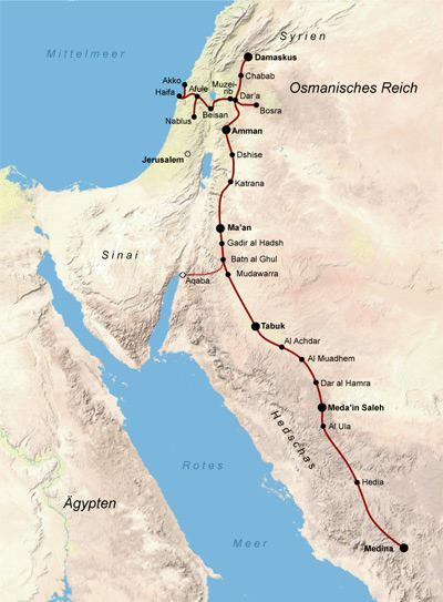Türkiye Hicaz Demiryolu için harekete geçti