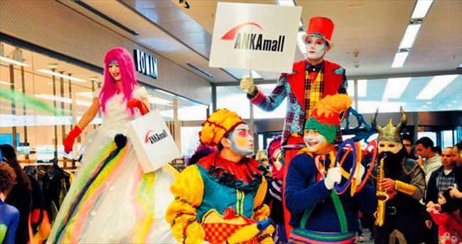 ANKAmall AVM'de karnaval coşkusu