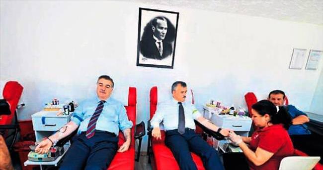 Osmaniye Valisi Kerem Al kan bağışına tam destek verdi