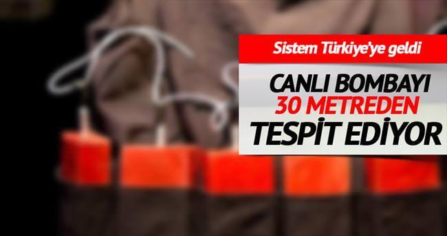 Canlı bomba avcısı Türkiye'de
