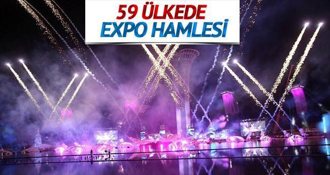 Expo için 59 ülkede tanıtım