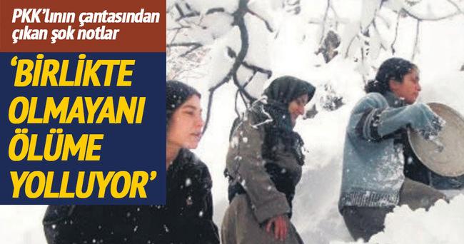 PKK'nın kadın köleleri