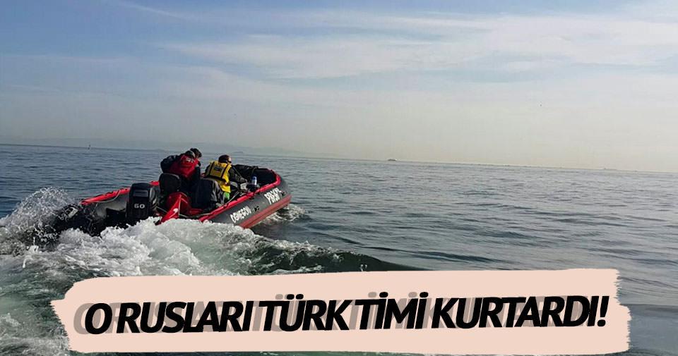 Rusları Türk arama kurtarma timi kurtardı