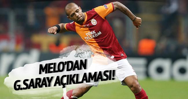 Melo'dan Galatasaray açıklaması