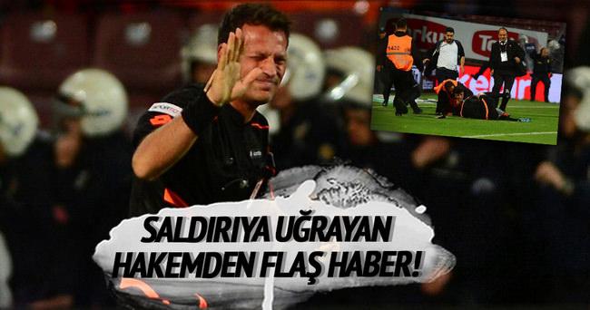 Trabzon'da dövülen hakemden yeni haber!