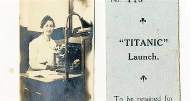 Titanik biletine 15 bin sterlin