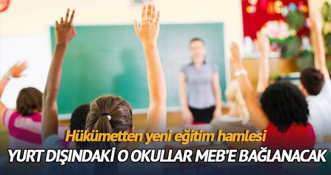 Hükümetten eğitimde 3 yeni ve önemli adım
