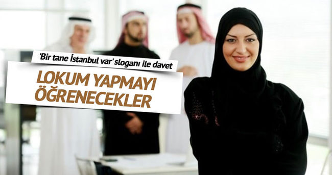 Ortadoğulu turiste 'Bir tane İstanbul var' sloganı ile davet