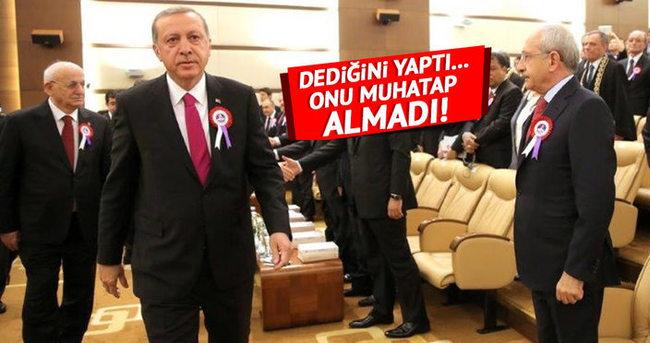 Cumhurbaşkanı Erdoğan ile Kılıçdaroğlu arasında soğuk rüzgar!