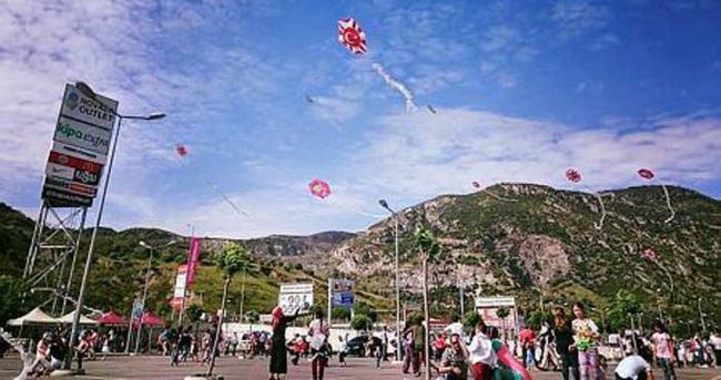 Karaman'da uçurtma şenliği yapıldı