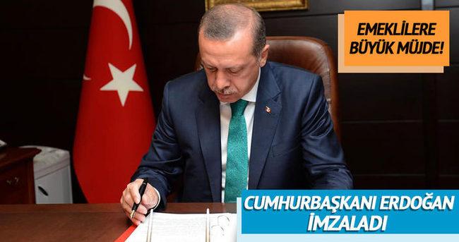 Cumhurbaşkanı Erdoğan o kanunu onayladı