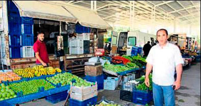 Aksu Murtuna'ya kapalı pazar yeri